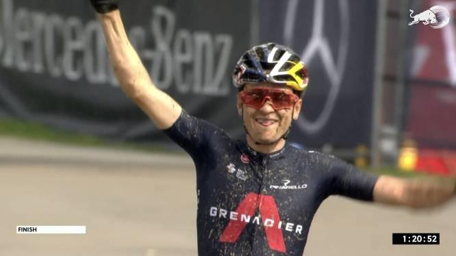Tom Pidcock demonstreert in wereldbeker mountainbike in Nove Mesto, Van der Poel tweede