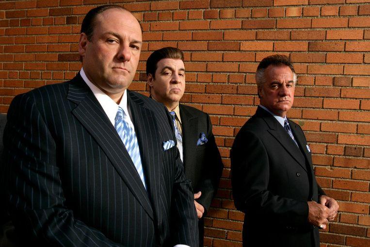 Steven van Zandt (M) in the Sopranos (2007). Beeld epa