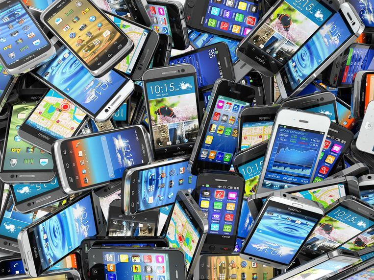Hoe ziet de smartphone van de nabije toekomst eruit? Beeld thinkstock
