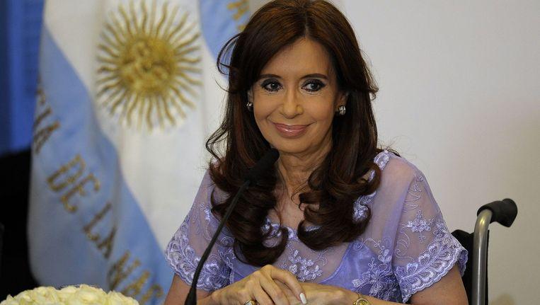 De Argentijnse presidente Cristina Kirchner