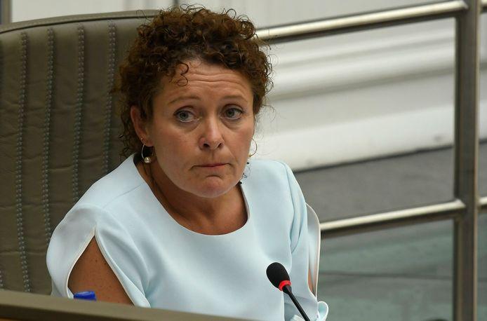 Vlaams minister van Mobiliteit en Openbare Werken Lydia Peeters.