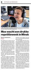 Krantenknipsel Max Albertazzi
