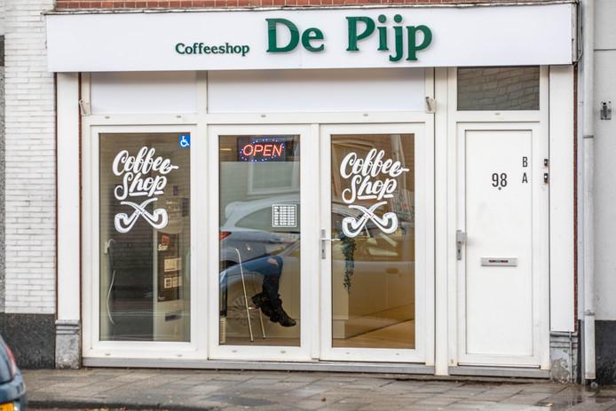 Coffeeshop De Pijp aan de Vechtstraat.