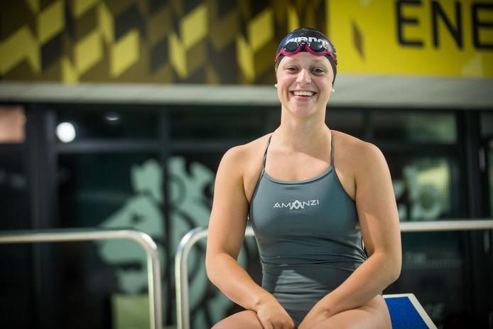 Sterre Hendriks, zwemster uit Eindhoven.