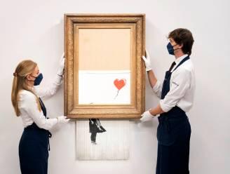 Banksy's iconisch versnipperde kunstwerk 'Love is in the Bin' geveild voor bijna 19 miljoen euro: drie keer zoveel als verwacht