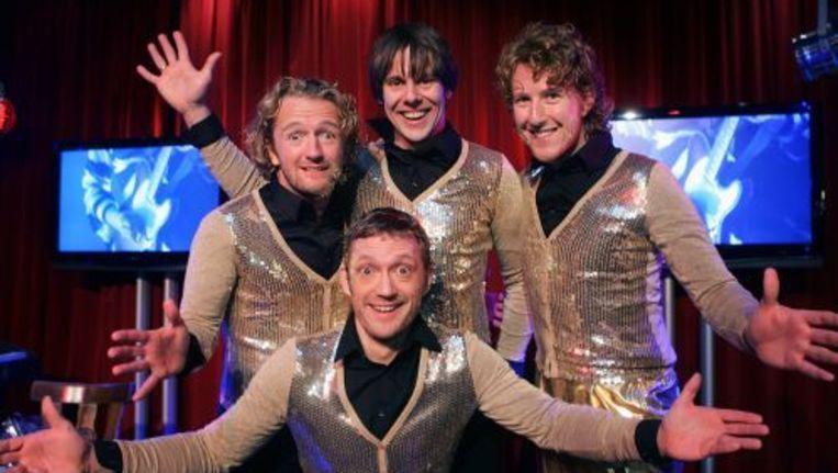 De Nederlandse theatergroep Ashton Brothers in de originele samenstelling. ANP Beeld