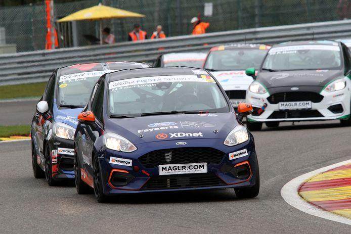 De Ford Fiesta waarmee Planckaert zal debuteren in de autosport.