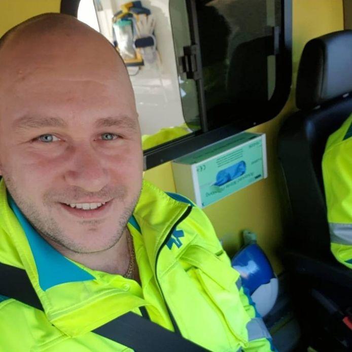 Sanny Varewyck was net zijn opleiding als ambulancier opnieuw aan het volgen.
