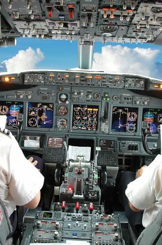 Al verscheidene incidenten gemeld met lijnpiloten die afgelopen jaar amper of niet vlogen