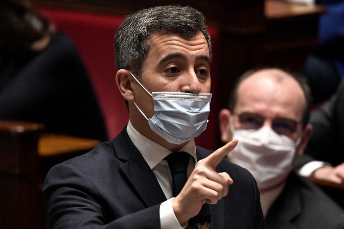 De Franse minister van Binnenlandse Zaken Gérald Darmanin (38).