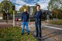 In Deventer wonen ook mensen in containers, zoals deze twee studenten.