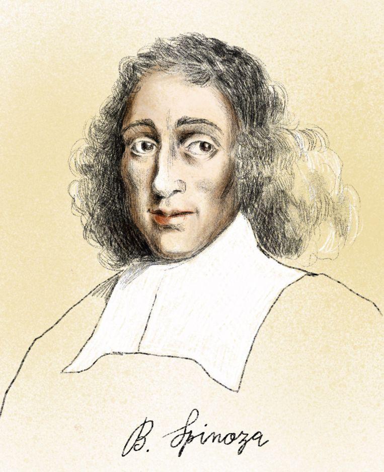 Herman De Dijn: 'Voor Spinoza was de mens gewoon een product van de natuur. niet uniek, niet speciaal, en niet het centrum van het universum.' Beeld Penelope Deltour