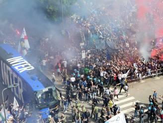 Inter zet scudetto in feestmatch tegen Sampdoria luister bij met 5-1-zege, Lukaku blijft op de bank