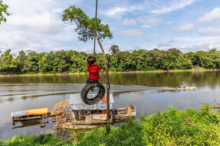 In de dorpen langs de rivier groeit het besef dat dit een kostbare, unieke omgeving is. Beeld Noël van Bemmel