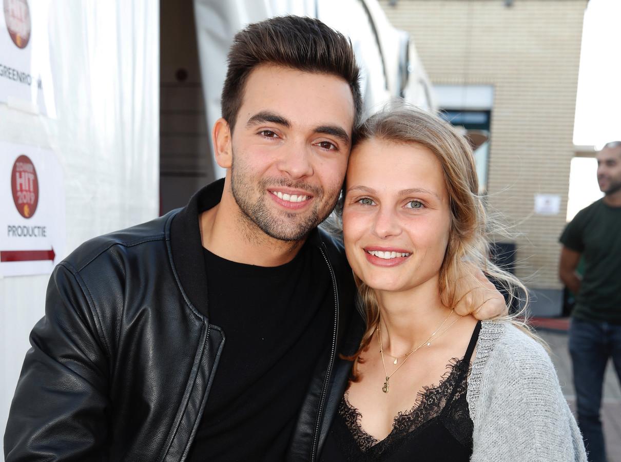Matthias Vergels en partner Julie