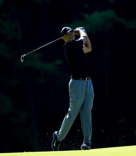 Tiger Woods aast in Ohio op recordzege op PGA Tour