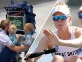 Emotionele thuiskomt Olympische roeister gaat viraal op internet