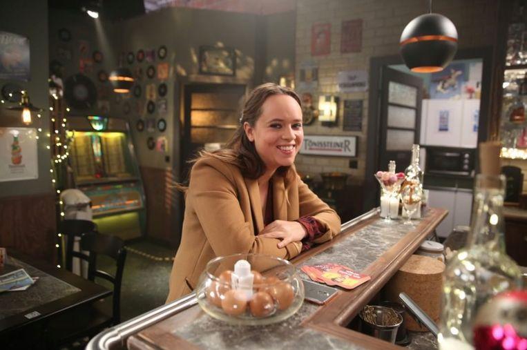 Moora Vander Veken als Olivia in 'Thuis' Beeld VRT