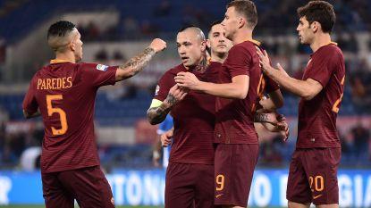 Missie geslaagd: Radja Nainggolan en AS Roma kloppen Empoli