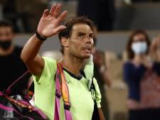 Geen nummer 14 voor Nadal: 'Het leven gaat door'