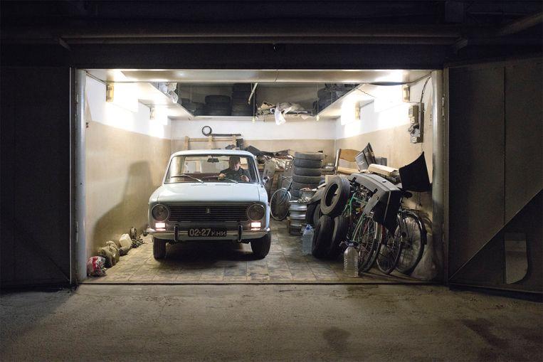 De Lada, de hoekige bolide op vier wielen, werd het symbool van het oude Oostblok. Beeld Sandra Hazenberg