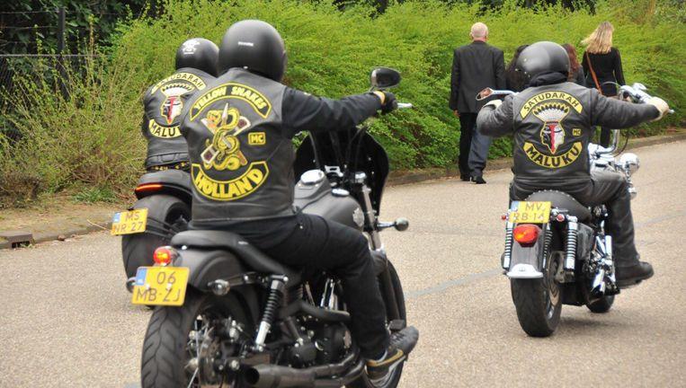 Vorig jaar waren ruim 400 leden van motorbendes verdacht van in 680 strafbare feiten. Beeld anp