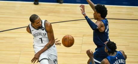 Kevin Durant ramène les Nets en tête à l'Est, le Jazz rebondit à l'Ouest