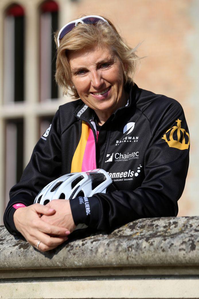 Christine De Dijcker uit Lissewege, van ECS European Containers in Zeebrugge, is bezieler van het initiatief.