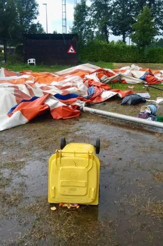 """15 kinderen gewond nadat circustent gaat vliegen op bivak: """"We dachten meteen aan de Pukkelpopstorm"""""""