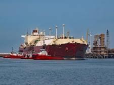 Zeebrugge ontvangt voor het eerst grootste gastanker ter wereld