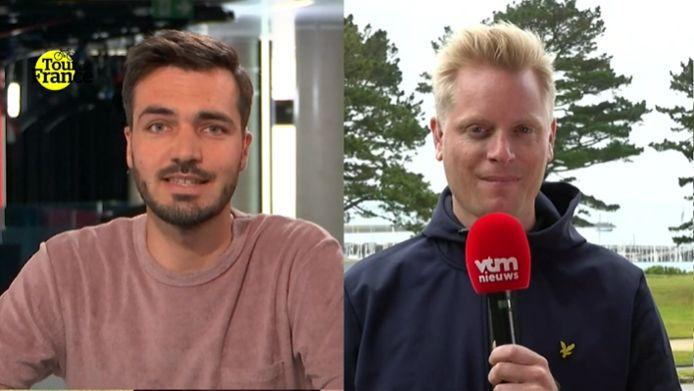 Jonas Decleer en Stijn Vlaeminck.