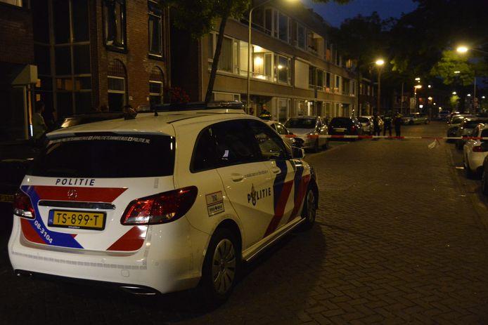 Politieonderzoek na een incident aan de Balfortstraat in Breda.