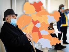 KAART   Minder nieuwe coronabesmettingen in Oost-Nederland, opvallende daling in Ommen