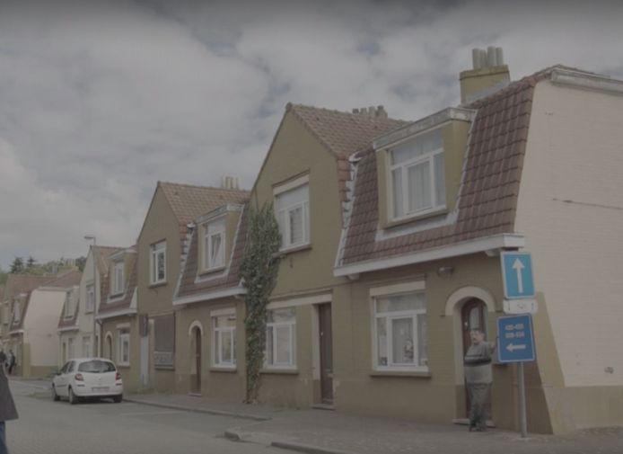 De sociale woningen in de Bernadettewijk.