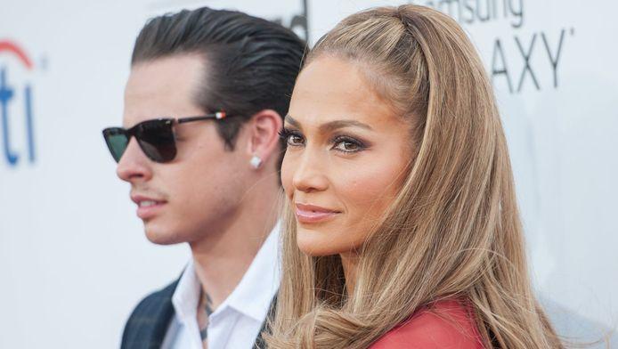 Casper Smart en zangeres Jennifer Lopez