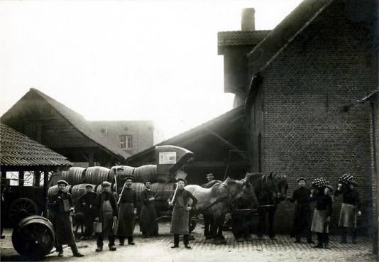 Brouwerij Wagon actief van 1899 tot 1950.