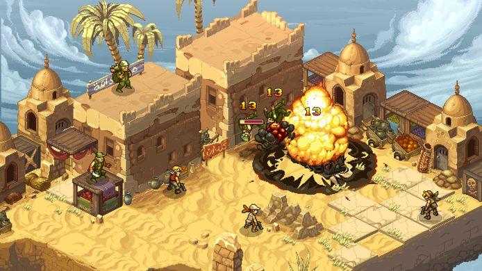 Schietklassieker 'Metal Slug' (1996) wordt ondertussen geherinterpreteerd tot een tactische game in 'Metal Slug Tactics', een game die ook later dit jaar zal verschijnen.