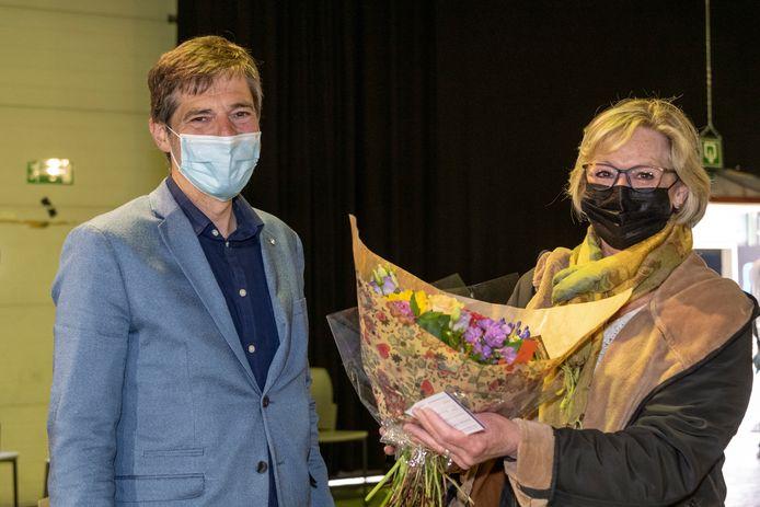 Landens burgemeester Gino Debroux (L'anders) is bijzonder fier op de positieve commentaren gericht aan het vaccinatiecentrum.