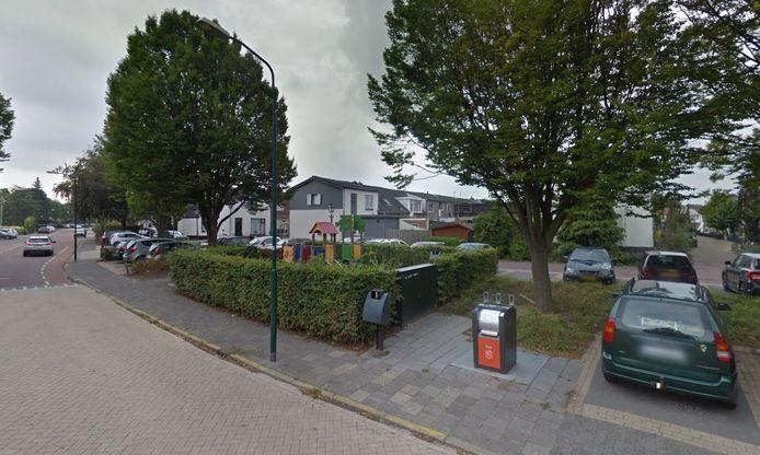 De omgeving van de Nieuwe Schans en de Garnalenweg in Bunschoten-Spakenburg