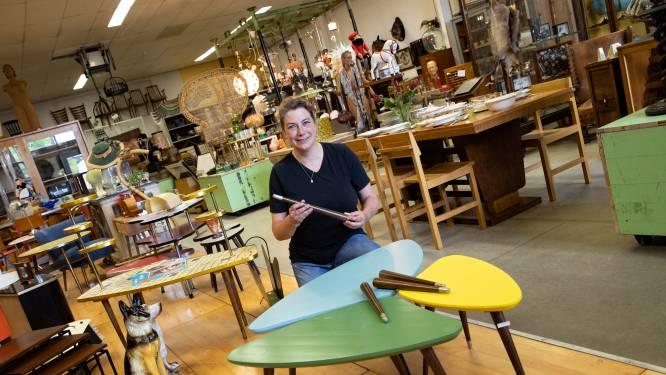 'Radiopootjes' van Philips gevonden op zolder, nu maken ze onderdeel uit van designtafels in Helmond