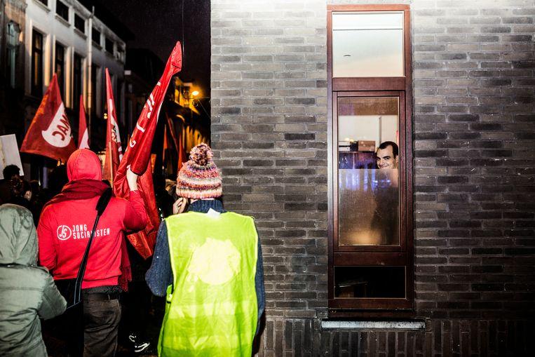 Manifestatie tegen Francken Beeld null