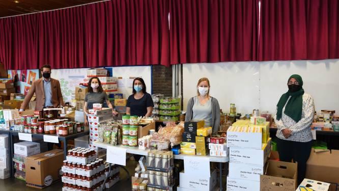 170 Beringse gezinnen krijgen een voedselpakket dankzij inzamelingsactie