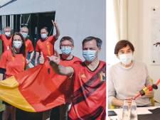 Les ministres aux couleurs des Diables Rouges pour l'Euro 2020