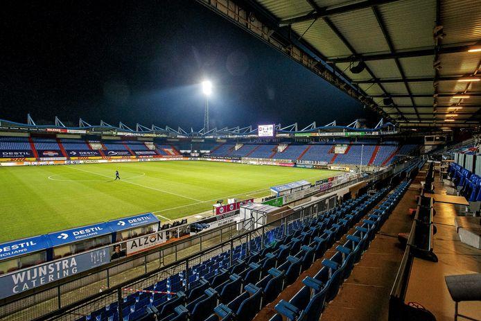 Willem II moet vanwege de coronacrisis z'n thuiswedstrijden in een leeg stadion spelen.