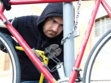 Politie zoekt fietsendief met witte bestelwagen