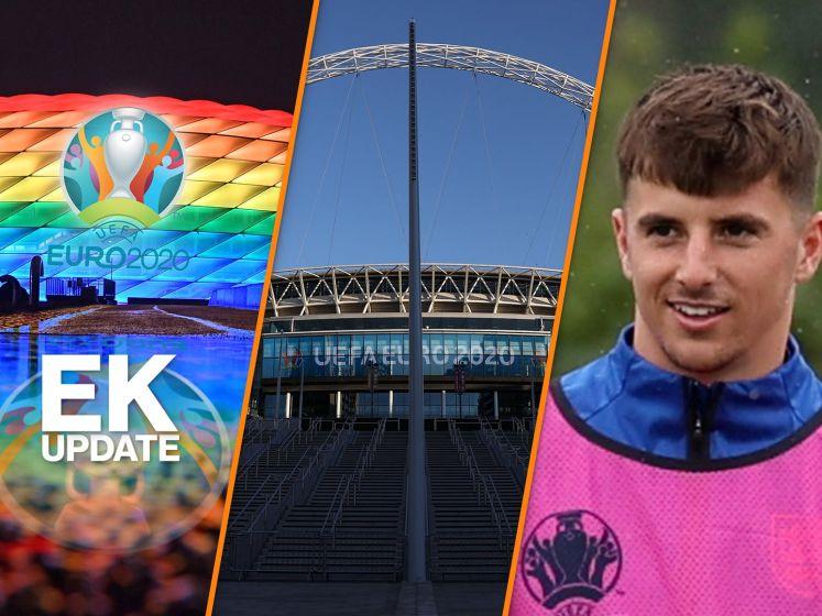 EK-update | UEFA verbiedt regenboogstadion, quarantaine voor Mount en Chilwell