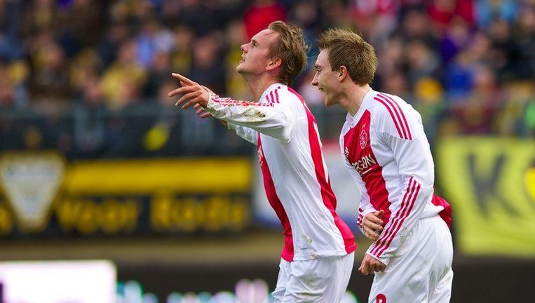 Siem De Jong (links) lukte de 2-0. Beeld PHOTO_NEWS