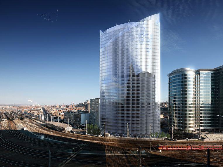 De Silver Tower in Brussel.