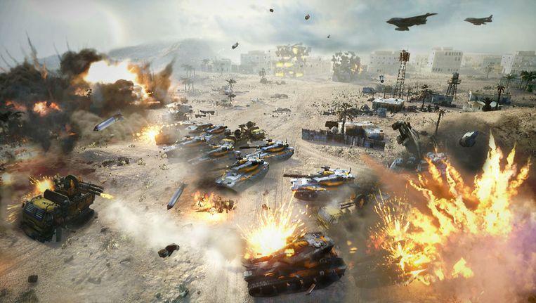 Een screenshot uit de nieuwe 'Command & Conquer'.