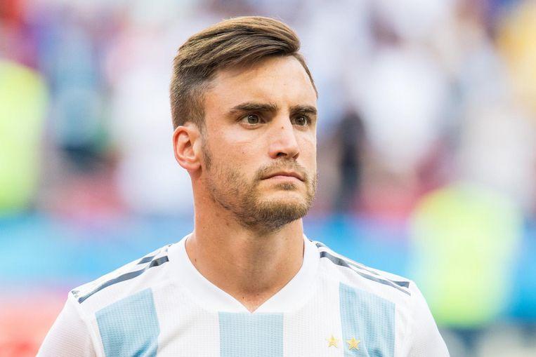 Tagliafico deed aan alle WK-wedstrijden van Argentinië mee. Beeld Pro Shots